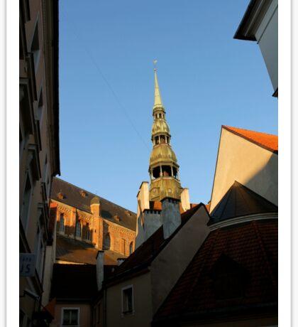 Rooftops of Riga Sticker