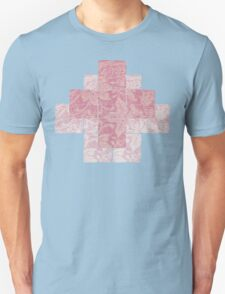Meditation in pink Unisex T-Shirt