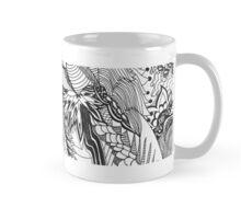Pandoodle Black & White Mug