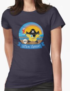 Aye Aye Captain Starrrr! Womens Fitted T-Shirt