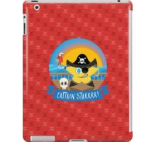 Aye Aye Captain Starrrr! iPad Case/Skin