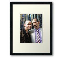 Fashion boys Framed Print
