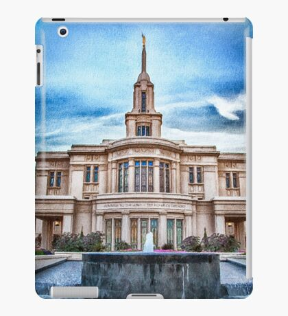 Payson Temple Lords House iPad Case/Skin