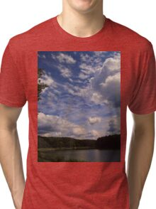 Cool clouds Tri-blend T-Shirt