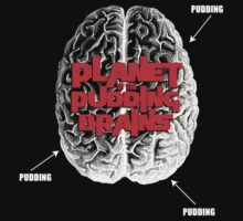 Planet Of The Pudding Brains Kids Clothes