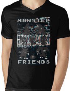 Monster Friends Mens V-Neck T-Shirt