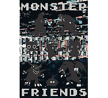 Monster Friends Photographic Print