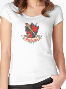 The Winchester Pub Women's Fitted Scoop T-Shirt