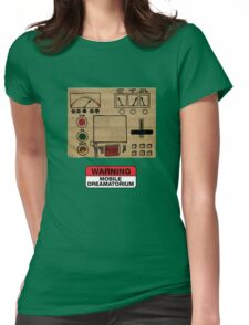 Mobile Dreamatorium Control Board (Community) Womens Fitted T-Shirt