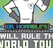I Will Rule the World Tour Sticker