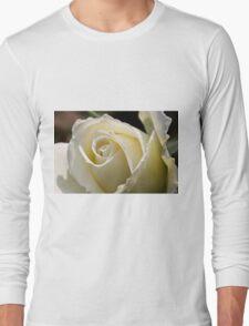 white roses Long Sleeve T-Shirt