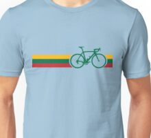 Bike Stripes Lithuanian National Road Race Unisex T-Shirt