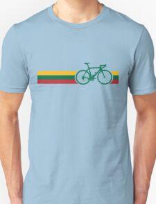 Bike Stripes Lithuanian National Road Race T-Shirt