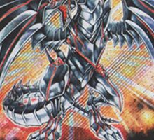 Darkness metal dragon Sticker