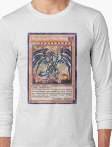 Darkness metal dragon Long Sleeve T-Shirt