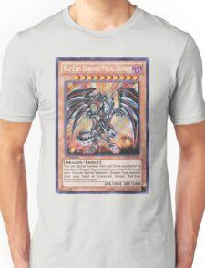 Darkness metal dragon Unisex T-Shirt