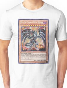 Darkness metal dragon Unisex T-Shirt