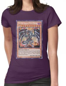 Darkness metal dragon Womens Fitted T-Shirt