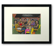Lunch in Atlanta Framed Print