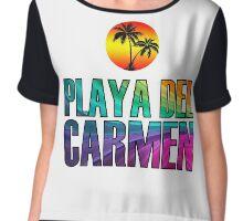 Playa del Carmen Chiffon Top