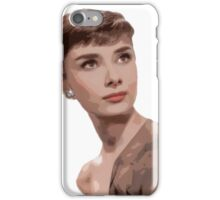 Posterized, Ponderous Audrey iPhone Case/Skin