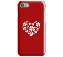 Love Paws iPhone Case/Skin