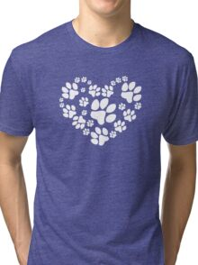 Love Paws Tri-blend T-Shirt