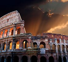The Coliseum of Ancient Rome by John Wallace