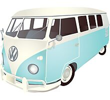 VW van Photographic Print