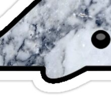 marble whale Sticker