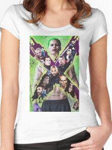Suicide Squad  Women's Fitted Scoop T-Shirt