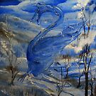 The Winter Dragon by tusitalo