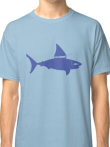A fin day for fishing: BLUE Classic T-Shirt