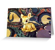 Wade Bambi Greeting Card
