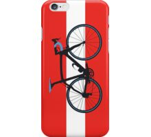 Bike Flag Austria (Big - Highlight) iPhone Case/Skin