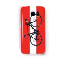 Bike Flag Austria (Big - Highlight) Samsung Galaxy Case/Skin