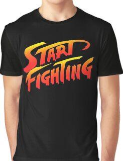 Start Fighting Graphic T-Shirt