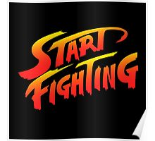 Start Fighting Poster