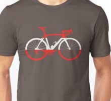 Bike Flag Austria (Big) Unisex T-Shirt
