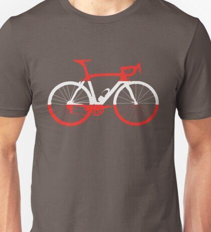 Bike Flag Austria (Big) Unisex T-Shirt
