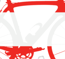 Bike Flag Austria (Big) Sticker