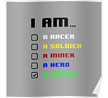 I am a Gamer Poster
