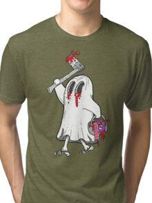 """""""Little Ghost, Little Ghost"""" Tri-blend T-Shirt"""