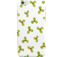 Christmas Holly and Berry iPhone Case/Skin