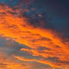Red Clouds at Sunset by Nick Jenkins