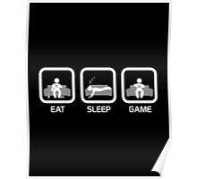 Eat, Sleep, Game - Console Version Poster