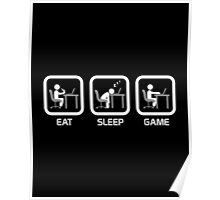 Eat, Sleep, Game - PC Version Poster