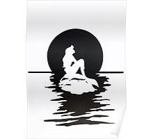 Moonlight Mermaid Poster