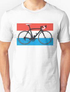 Bike Flag Luxembourg (Big - Highlight) T-Shirt