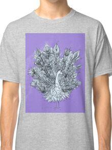 Passionately Purple Peacock Classic T-Shirt